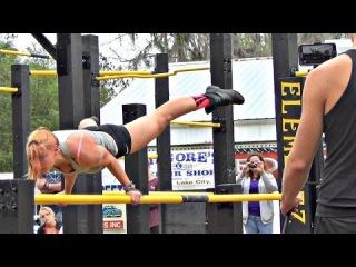 Two Of The BEST Bar Workout WOMEN Battle - IMuscleUp 2nd Annual Pull Up Jam