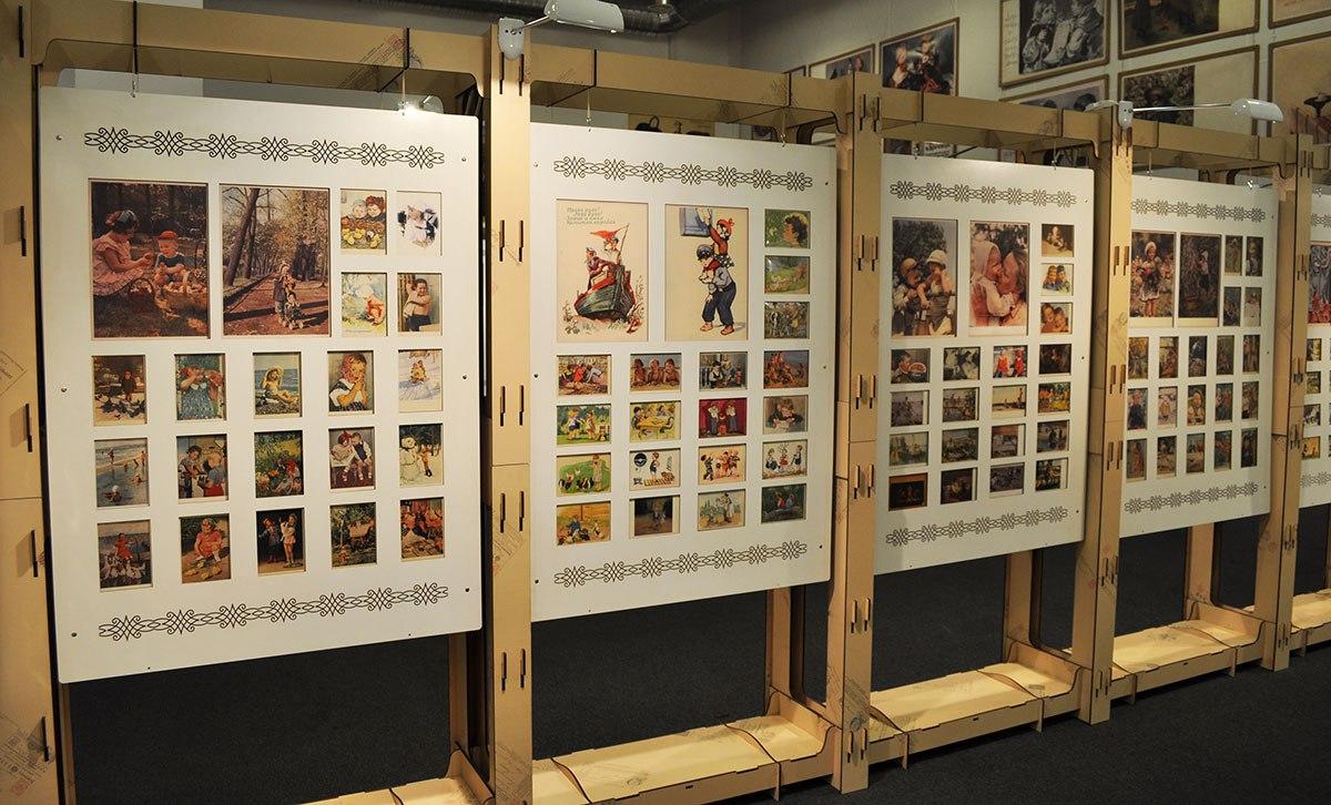 Музейная открытка школьный музей