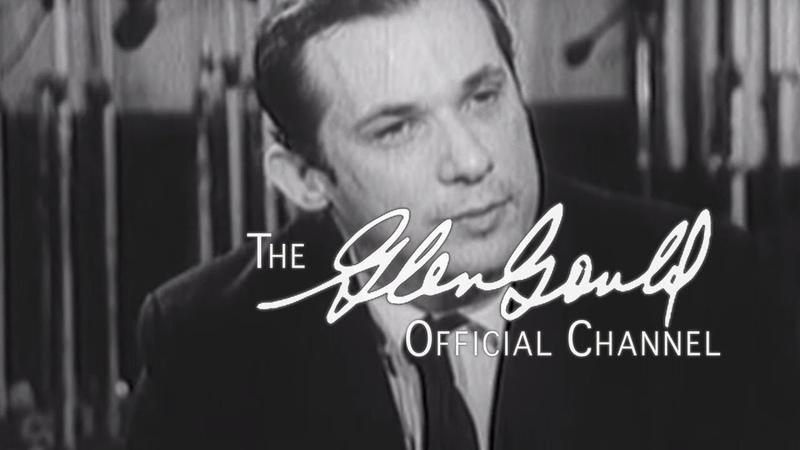 Glenn Gould - Interview with Alex Trebek: I detest audiences (OFFICIAL)