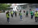 Танцевальный флешмоб В объятиях Сантанына фестивале Партала -2018