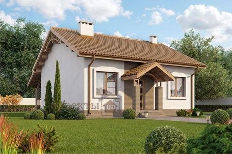 Новый проект маленького дома
