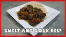 Pressure Cooker Sweet and Sour Beef