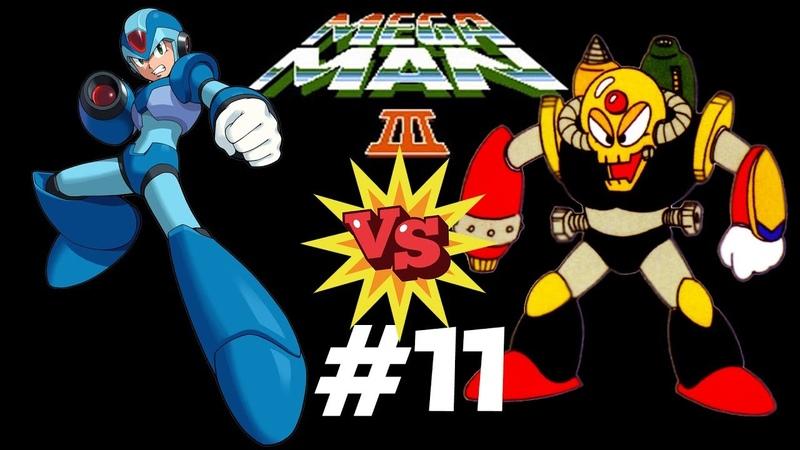 Mega Man 3 VS Добиваем Doc Robot. Прохождение (NES, Dendy)