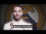 Алекс Хантер - новый игрок