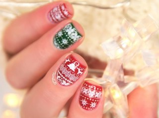 Новогодний дизайн ногтей шеллак фото