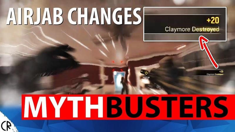 AirJab Changes Recoil Fix - TTS Mythbusters - Wind Bastion - Busting Rainbow Six Siege - R6