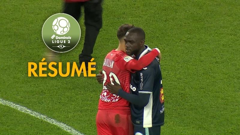Havre AC AS B ziers 2 3 R sum HAC ASB 2018 19