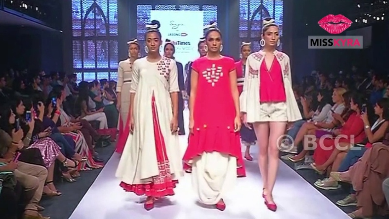 Sangria by Jabong at Delhi Times Fashion Week 2018 Day 3