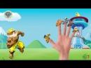 Щенячий патруль как Халк Семья пальчиков на Русском Марше Чейз, Роки, Зума Песенка про пальчики Семья пальчиков БАРБОСКИНЫ и