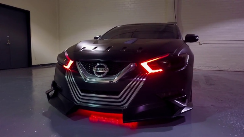 Star Wars Cars - 2018 Nissan Maxima Kylo Ren