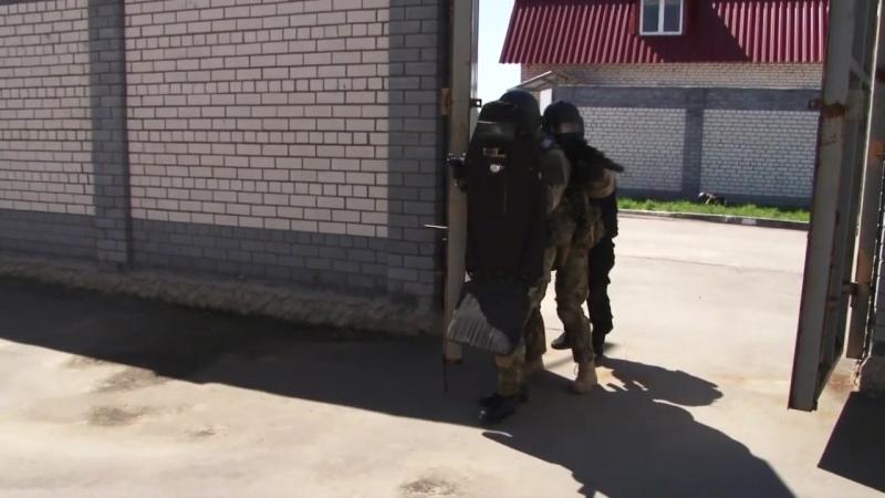 Тренировки бойцов СОБР Отдела Росгвардии по Рязанской области