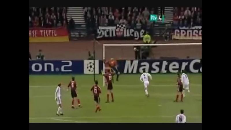супер гол Зинедина Зидана в финале лиги чемпионов 2001/2002