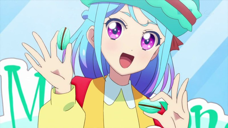 Aikatsu Friends! ep8 Mio's Macaron song アイカツフレンズ!8話 マカロン音頭