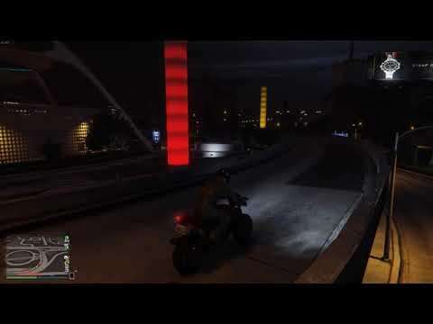 Подозрительный бот в GTA Online