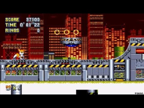 Sonic Mania Tails New Chemical Plant Cutscene Animation