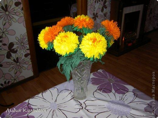 Как сделать своими руками хризантемы
