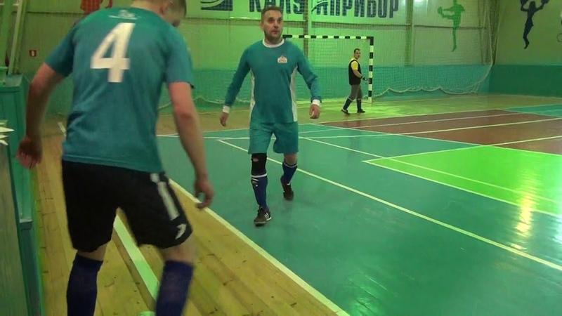 ФК Золотая бочка ФК Агонь 1 тайм