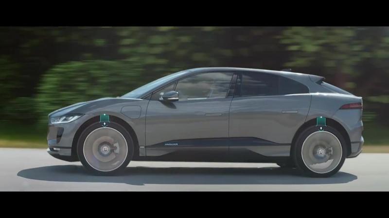 Jaguar I-PACE _ Активная пневмоподвеска