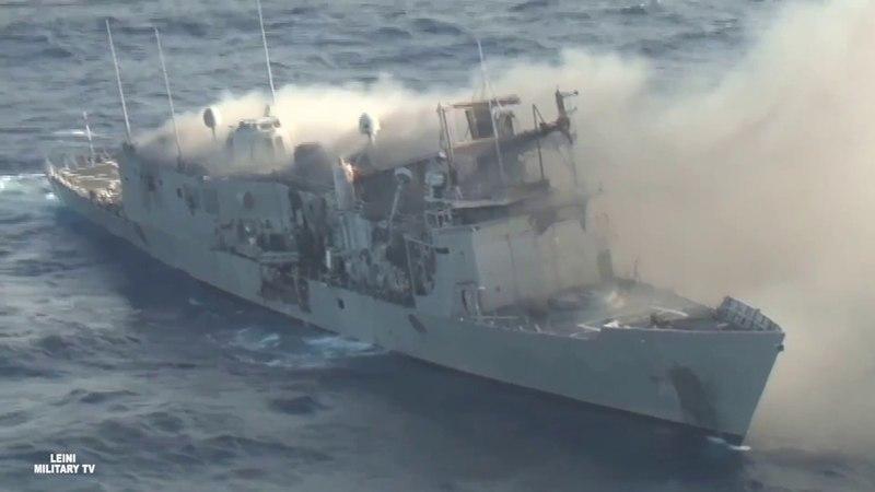 Один против армады Более 12 часов стойкости от фрегата USS Thach ВМС США