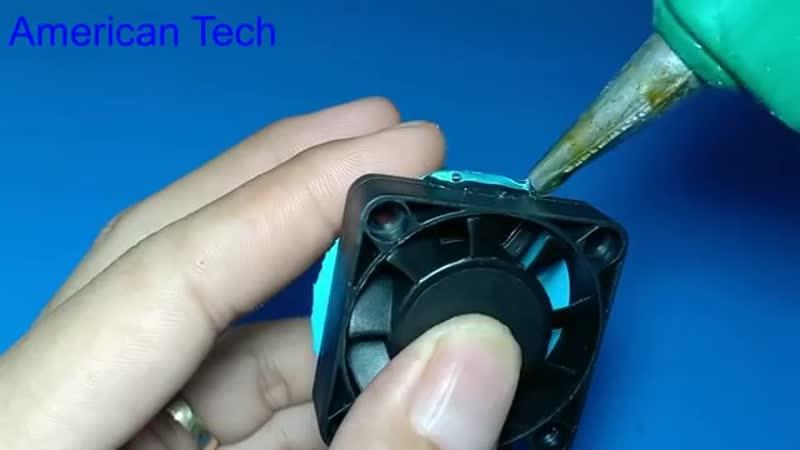 How to make hot air blower soldering gun