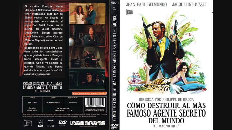 COMO DESTRUIR AL MAS FAMOSO AGENTE SECRETO DEL MUNDO - 1973