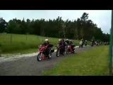Встреча европейских явистов на мотоциклах Jawa 650 и Jawa 660