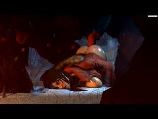 Tomb raider lara croft .3d .порно,лару крофт трахает йети.хента