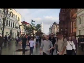 Последние видео с разгона митинга в Казани