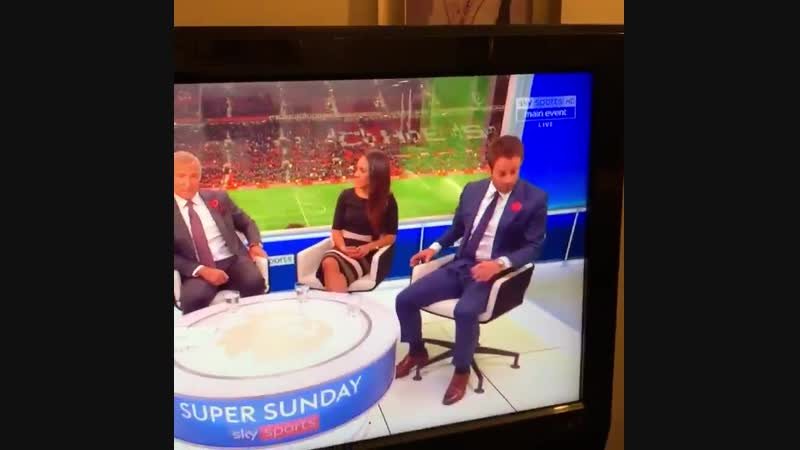 Graeme Souness just complimented Pogba and this was the studios reaction