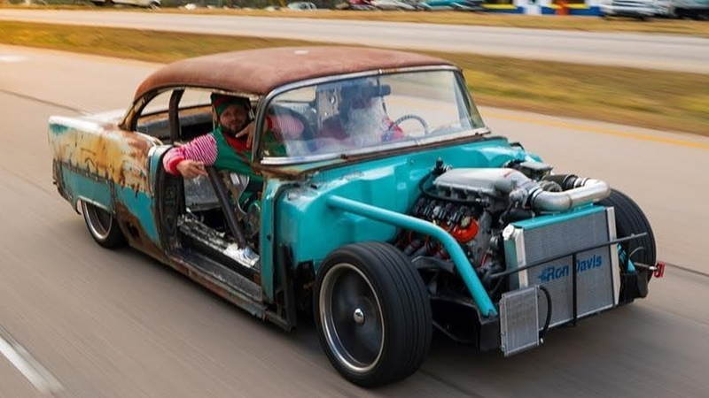 Chevy Belair Rat Rod aka Tire Killer LSx Engine Swap build