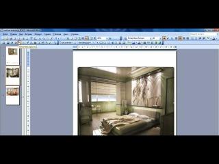 Оформление картинок в программе Word.avi
