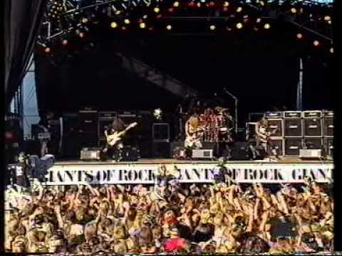 Sepultura live Giants of Rock 1991