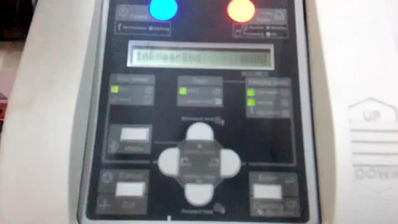 Proses printing printer MUTOH RJ-900X menggunakan tinta sublim Morim