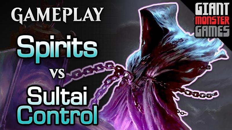 Spirits vs Sultai Control - New to Modern MTGO Gameplay 02