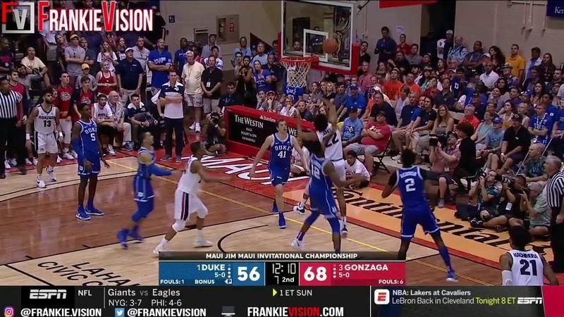 Duke vs Gonzaga | Full Game Highlights | 11.21.18