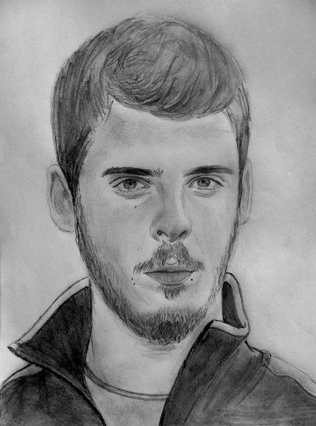 футбол рисунки карандашом: