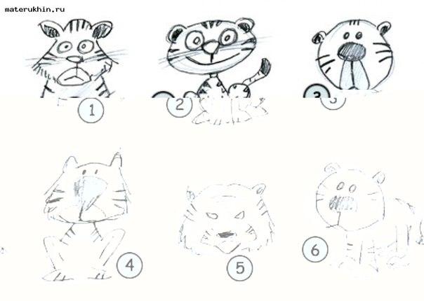 Схемы рисунков