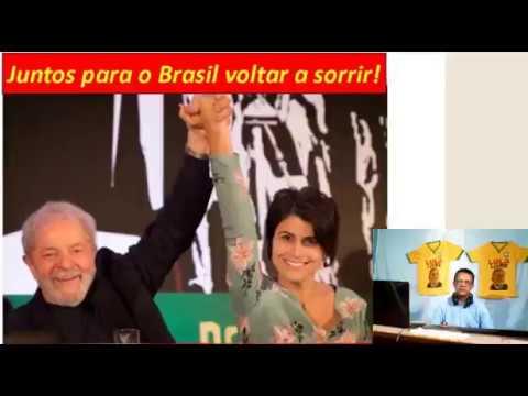 Gleisi revela toda a verdade sobre a participação de Lula na escolha da chapa