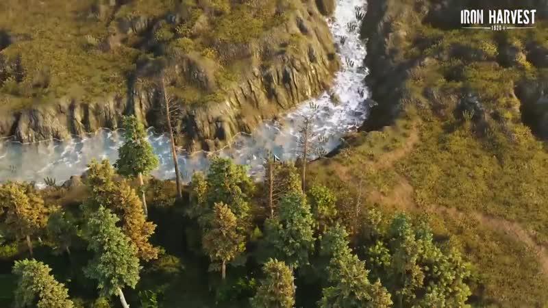 Iron Harvest Terrain water vegetation test