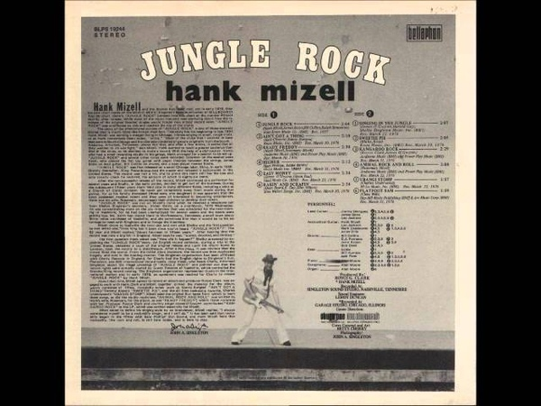 Hank Mizell - Animal Rock and Roll