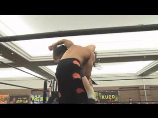 Yukio Sakaguchi, Masahiro Takanashi, Kota Umeda vs. Yuki Ueno, Koju Takeda, Daiki Shimomura (DDT - Nerima the Fighter 2018)