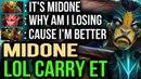 MidOne Elder Titan Hard Game - Disaster Start DOTA 2