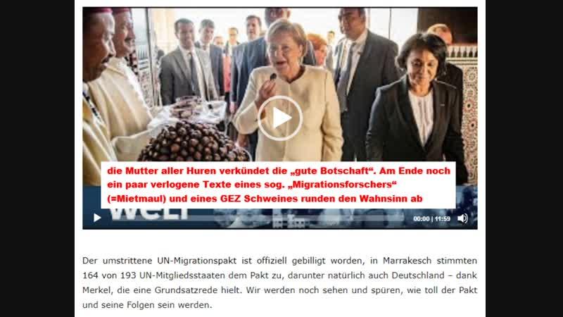 Marrakesch UN-Migrationspakt offiziell angenommen – Merkel hält Grundsatzrede