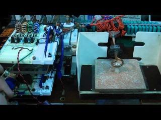 Индукционный нагрев на самодельном сдвоенном инверторе