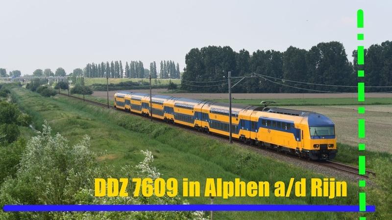 DDZ 7609 komt langs Alphen a/d Rijn