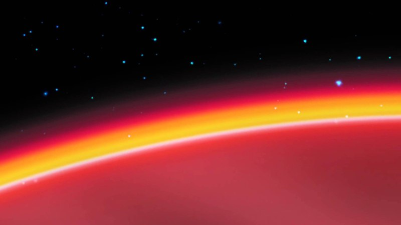 'Sunscreen' Layer on Extreme Planet