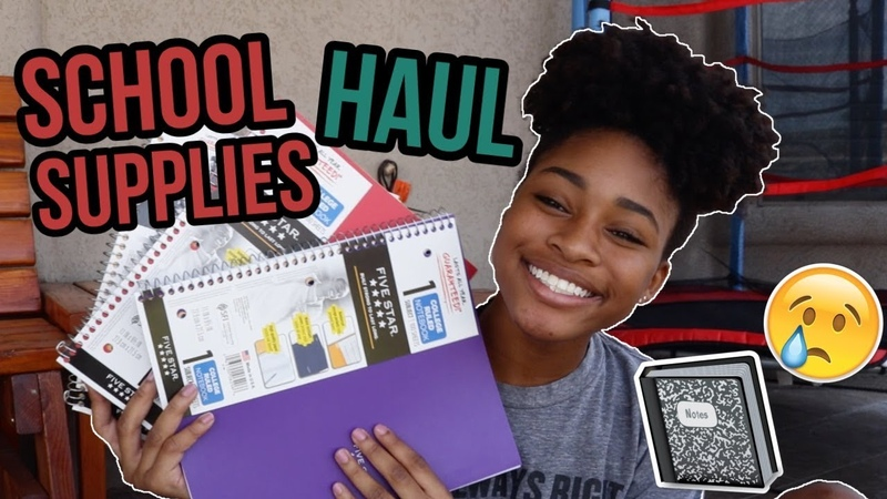 BACK TO SCHOOL SUPPLIES HAUL (10th Grade/ Sophomore Year)