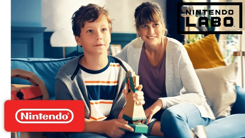 Make, Play, and Discover with the Nintendo Labo Vehicle Kit