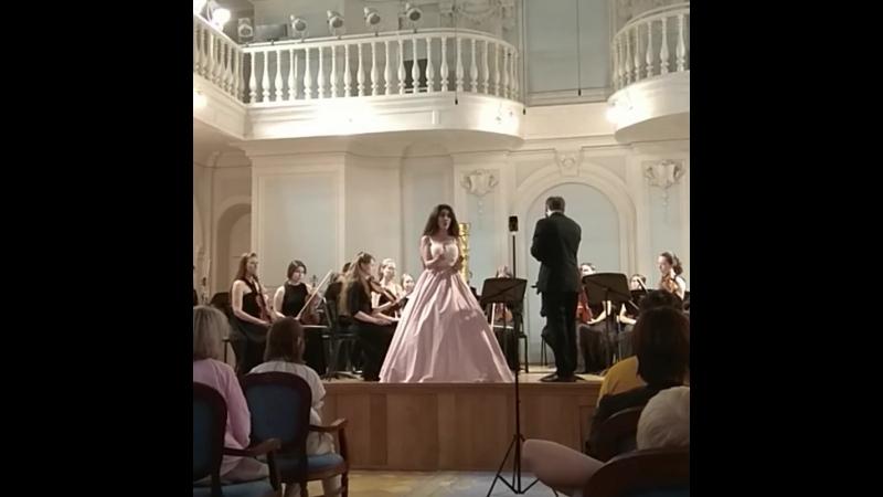 Диана Амбарцумян - ария This day, so beautiful (Noah Mosley, opera Mad King Suibhne)
