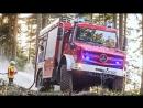 Mercedes Unimog U 5023 Extreme off roader Fire Truck